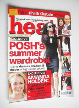 Heat magazine - Victoria Beckham cover (12-18 April 2003 - Issue 214)