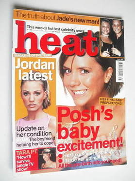 <!--2002-08-31-->Heat magazine - Victoria Beckham cover (31 August-6 Septem