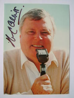 Peter Alliss autograph