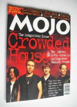 MOJO magazine - Crowded House cover (June 1994 - Issue 7)