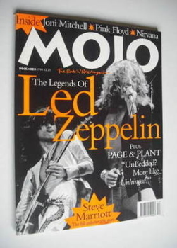 MOJO magazine - Led Zeppelin cover (December 1994 - Issue 12A)
