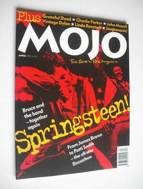 <!--1995-04-->MOJO magazine - Bruce Springsteen cover (April 1995 - Issue 1