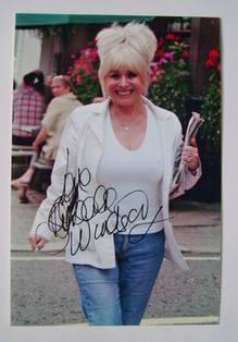 Barbara Windsor autograph (hand-signed photograph)
