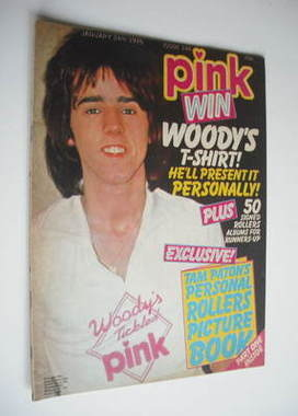 Pink magazine - 24 January 1976 - Stuart Wood cover