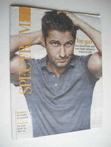 Spectrum magazine - Gerard Butler cover (6 November 2011)