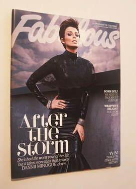<!--2011-10-15-->Fabulous magazine - Dannii Minogue cover (15 October 2011)