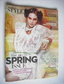 Style magazine - The Big Spring Issue cover (6 March 2011)