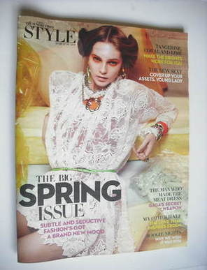 <!--2011-03-06-->Style magazine - The Big Spring Issue cover (6 March 2011)