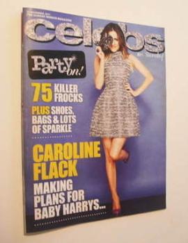 Celebs magazine - Caroline Flack cover (27 November 2011)