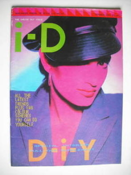 i-D magazine - Anne Pigalle cover (October 1984 - No 19)