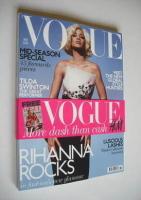 <!--2011-11-->British Vogue magazine - November 2011 - Rihanna cover