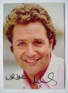 Michael Ball autograph