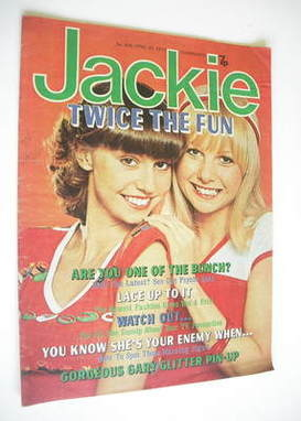 <!--1977-04-30-->Jackie magazine - 30 April 1977 (Issue 695)