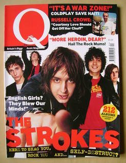 <!--2002-04-->Q magazine - The Strokes cover (April 2002)