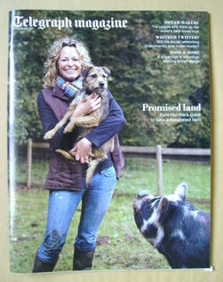 <!--2011-11-12-->Telegraph magazine - Kate Humble cover (12 November 2011)