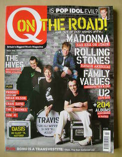 <!--2002-03-->Q magazine - Travis cover (March 2002)