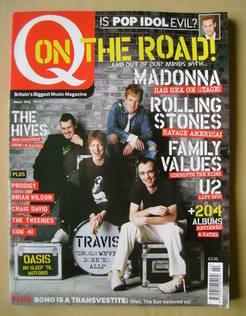 Q magazine - Travis cover (March 2002)