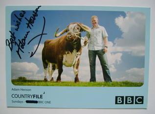Adam Henson autograph (hand-signed photograph)