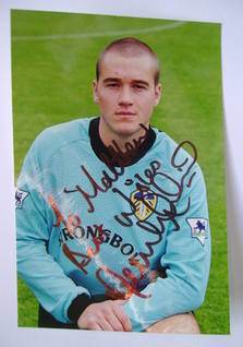 Paul Robinson (goalkeeper) autograph