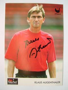 Klaus Augethaler autograph