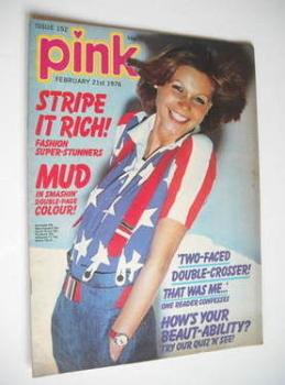 Pink magazine - 21 February 1976
