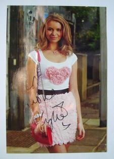 Kylie Babbington autograph