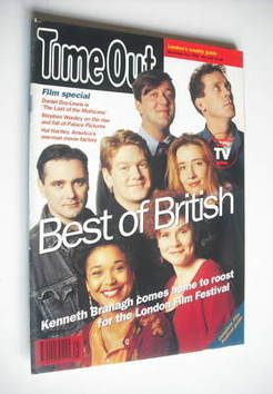 <!--1992-11-04-->Time Out magazine - Best of British cover (4-11 November 1