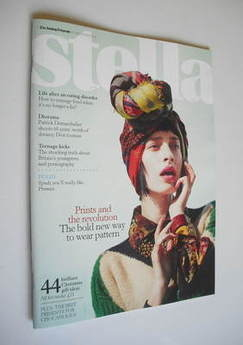<!--2011-11-27-->Stella magazine - Prints And The Revolution cover (27 Nove