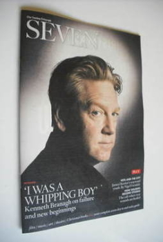 Seven magazine - Kenneth Branagh cover (27 November 2011)