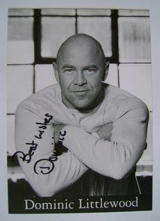 Dominic Littlewood autograph (hand-signed photograph)
