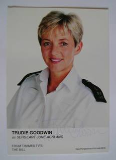 Trudie Goodwin autograph
