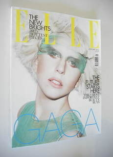 <!--2012-01-->British Elle magazine - January 2012 - Lady Gaga cover (cover