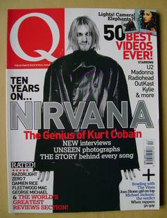 <!--2004-04-->Q magazine - Kurt Cobain cover (April 2004)