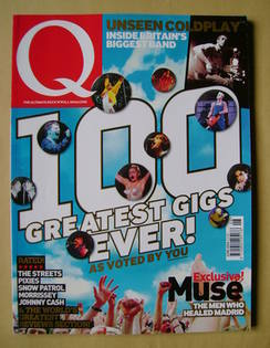 Q magazine - 100 Greatest Gigs Ever! cover (June 2004)