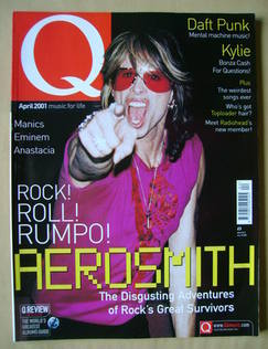 <!--2001-04-->Q magazine - Steven Tyler cover (April 2001)