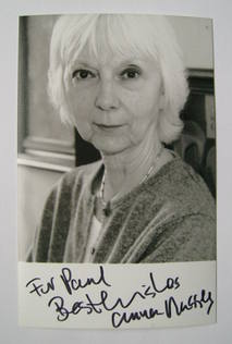 Anna Massey autograph (hand-signed photograph, dedicated)