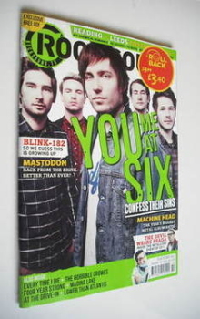 Rock Sound magazine - You Me At Six cover (October 2011)