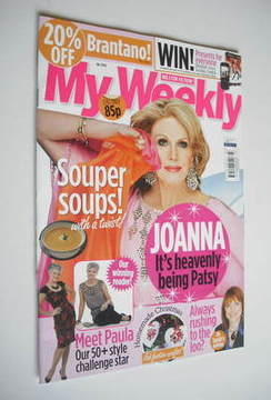 My Weekly magazine (26 November 2011 - Joanna Lumley cover)