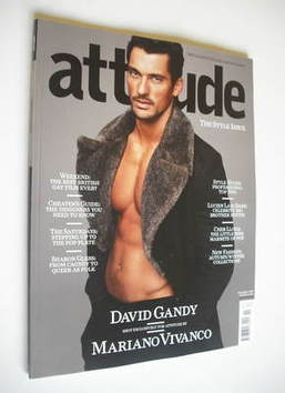 <!--2011-11-->Attitude magazine - David Gandy cover (November 2011)