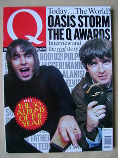 <!--1997-01-->Q magazine - Liam Gallagher and Noel Gallagher cover (January
