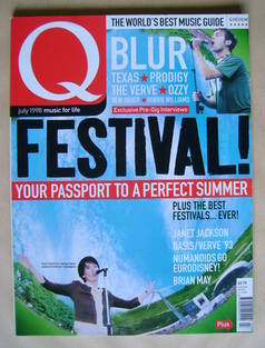 <!--1998-07-->Q magazine - Festival! cover (July 1998)