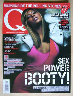 Q magazine - Beyonce Knowles cover (September 2003)