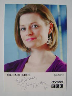 Selina Chilton autograph (signed cast card)