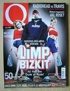 <!--2001-07-->Q magazine - Fred Durst cover (July 2001)
