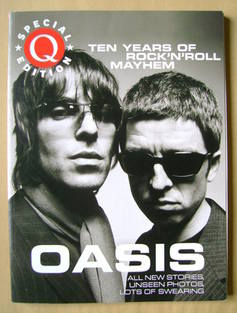 Q magazine Special Edition - Oasis: Ten Years of Rock'n'Roll Mayhem