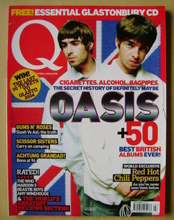 <!--2004-07-->Q magazine - Liam Gallagher and Noel Gallagher cover (July 20
