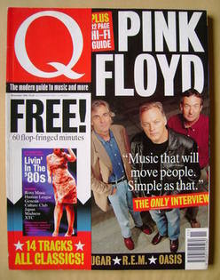 Q magazine - Pink Floyd cover (November 1994)