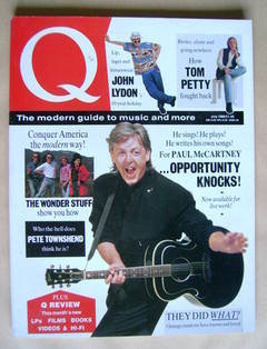 Q magazine - Paul McCartney cover (July 1989)