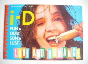 <!--1983-02-->i-D magazine - Sophie cover (February 1983 - No 12)