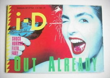<!--1982-12-->i-D magazine - Moira Bogue cover (December 1982 - No 10)